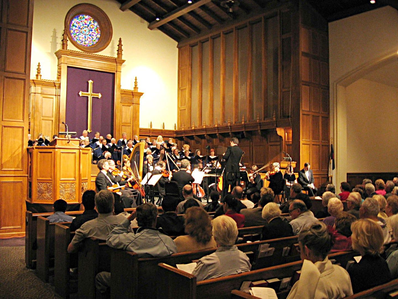 Church service 50